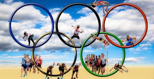 为什么奥运会以五色环为标志?