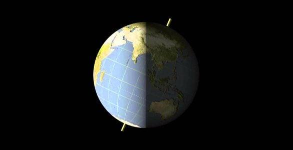 为什么地球会绕轴自转?