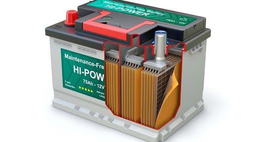 为什么蓄电池能蓄电?