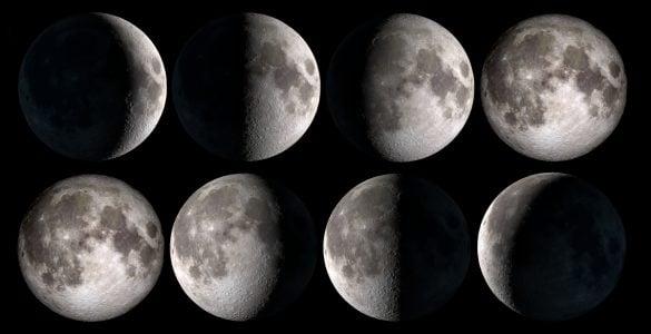为什么月亮有月相变化?