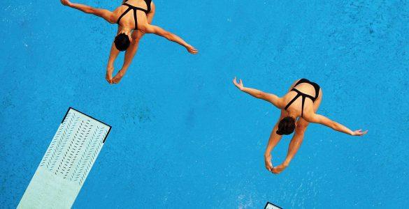 """为什么跳水有""""空中芭蕾""""之称?"""
