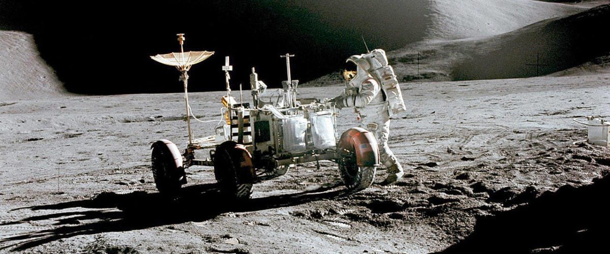 为什么月球车能在月球上行驶?