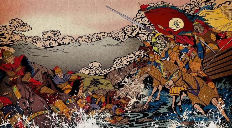 """为什么""""淝水之战""""中东晋军能以少胜多?"""