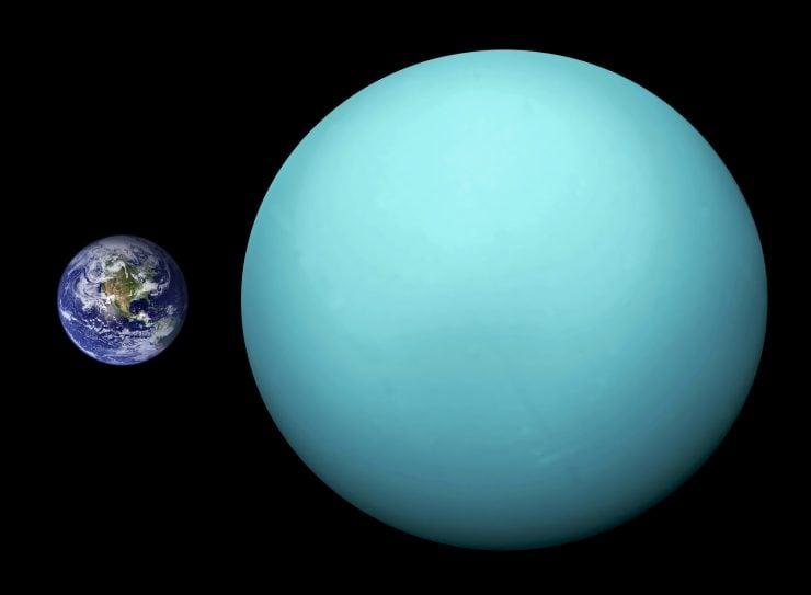 """为什么把天王星称做""""冷行星""""?"""
