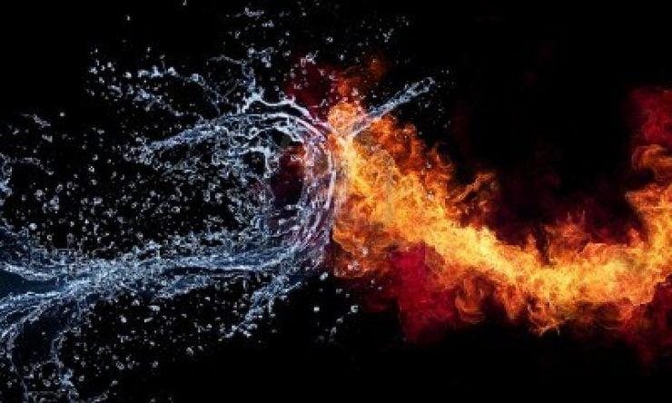 为什么水不能燃烧?