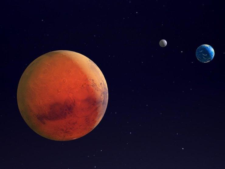 为什么火星看上去是红色的?