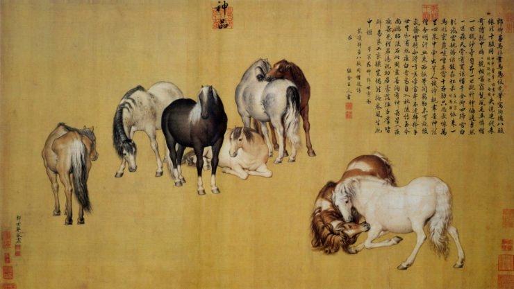 郎世宁对中国传统绘画有何影响?