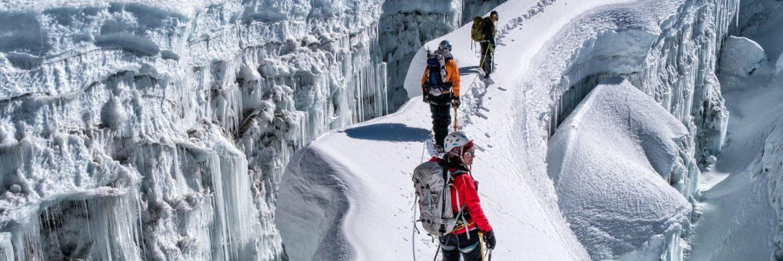 """为什么登山被称为""""勇敢者的运动""""?"""