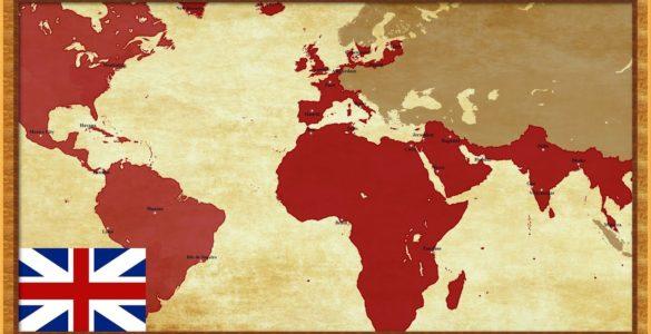 """为什么英国曾被称为""""日不落帝国""""?"""