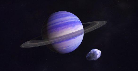 为什么海王星的环呈短弧状?