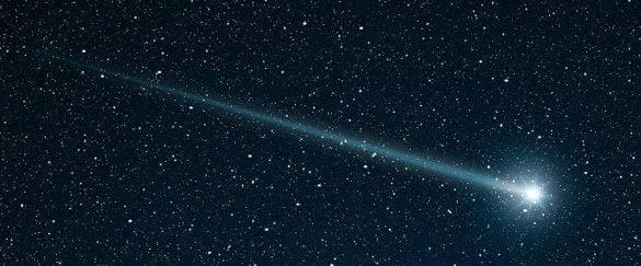 为什么彗星都拖条尾巴?