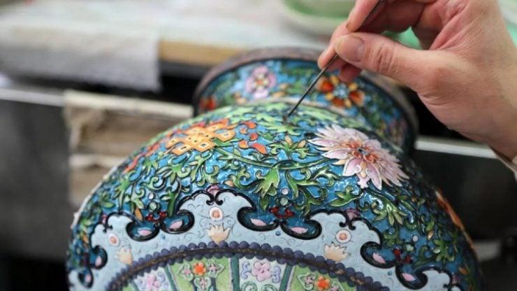 什么是景泰蓝艺术?
