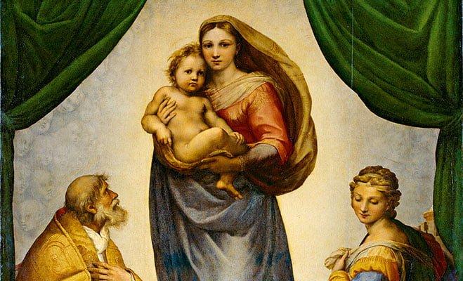 为什么说拉斐尔的《西斯廷圣母》是最美的圣母像?